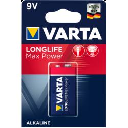 Longlife Max Power 9V